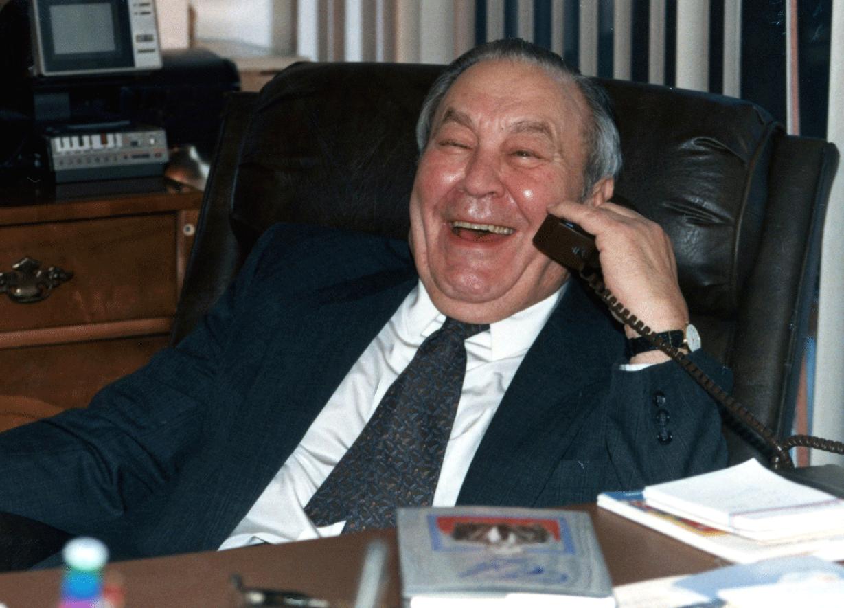 Eli Schulman, founder of Eli's Cheesecake